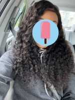 Hair come true to size, very soft and...