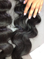Hair is very beautiful, so soft and e...