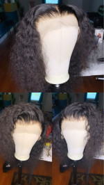 I made it into a wig for a client and...