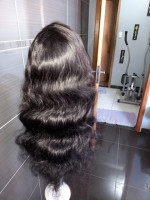 The hair is silky soft and has no sme...