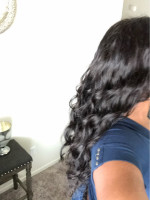 The hair is soft and pretty. It arriv...