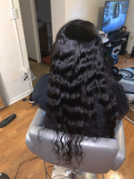 very beautiful hair, the bundles are ...