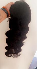 Omgg the wig definitely gave. the hai...
