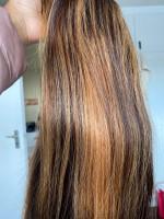 Really beautiful human hair. Soft and...