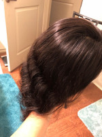 This hair is thick and silky. Great q...