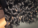 I ordered 4 bundls the hair is full, ...