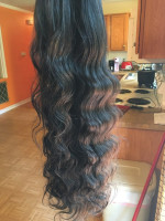 I received the hair in 4 days. The ha...