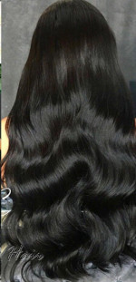 This hair is soooo bomb it's so soft,...