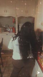 Hair is true to lengtha , straighten ...