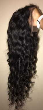 Very good wig easy to comb and thank ...
