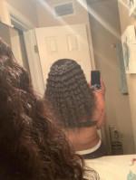 I love the hair,no shedding,nice boun...