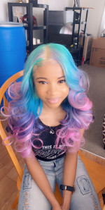 I loved my hair. Dyed beautifully.  A...