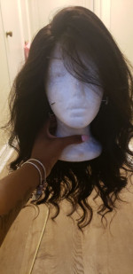 The hair arrived super fast.. It's su...