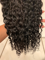 This hair is so soft & silky. The shi...