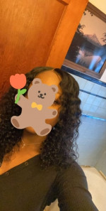 Hair has a nice texture but it came w...