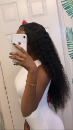 I ordered the 30inches and the hair i...