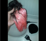 Love this hair.. takes color really w...