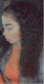 Love this curly hair. It came within ...