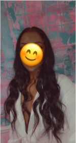 This hair is beautiful af! 24 inches ...