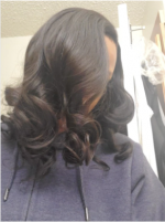 Hair is absolutley beautiful and ever...