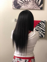 Hair is nice and soft did this instal...