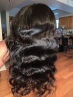 I really like the hair it's silky, sm...