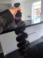 The hair looks really good. I got it ...