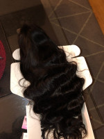 the hair was great I order a 26inches...