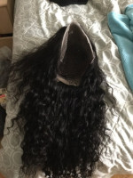 The hair is so soft, full. Customer s...