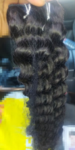 the hair is 100%human hair just as de...