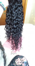 So soft, great ends, amazing curl pat...