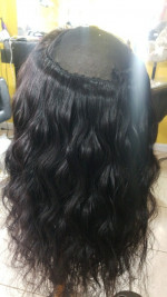 The hair was very good quality, it wa...