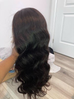 this was my birthday wig and when i t...