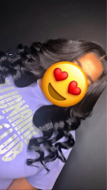 This hair is really pretty and holds ...