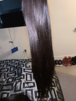 Hair is really soft and silky, the bu...