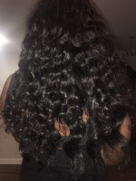 The hair is amazing! I've curled it a...