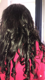 The hair was amazing quality I was ve...