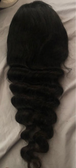 This lace wig is so so so soft! It is...