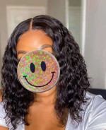 This curl wig is GORGEOUS!It feels am...