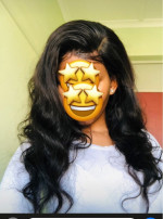 This hair is true to length plus it's...