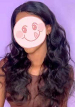 This wig is beautiful, its comes pre ...