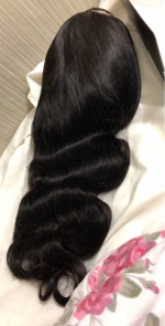 This hair is so bomb!!! It's the soft...