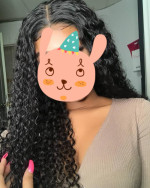 Great hair . Very soft and shiny . Co...