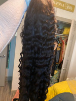 The wig is very soft and true to leng...
