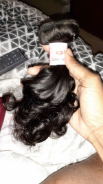 This hair is amazing, it's super soft...