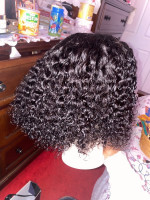 Just got this unit. Hair is soft Curl...