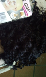 The hair is fabulous, quality is gorg...