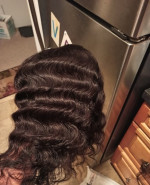 This loose deep wave hair is bomb!The...