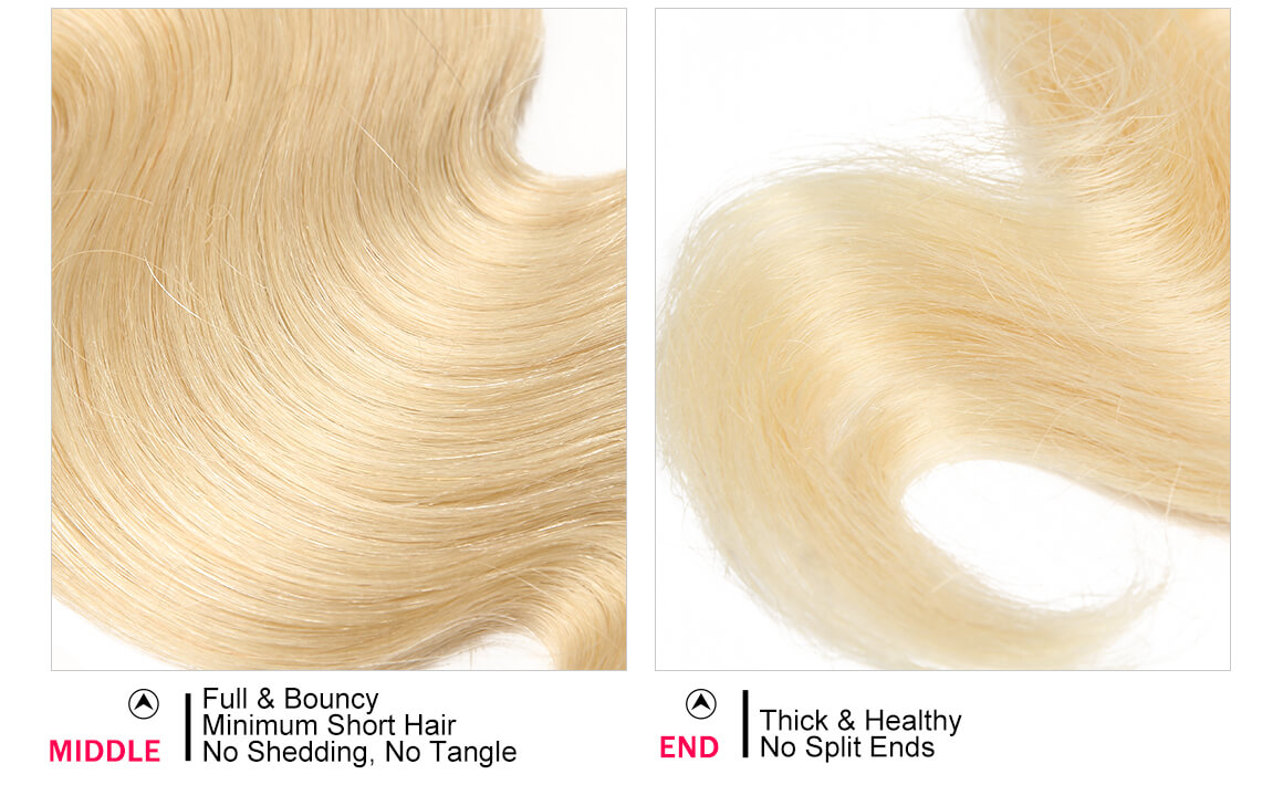 Body Wave 3 Bundles Human Virgin Hair
