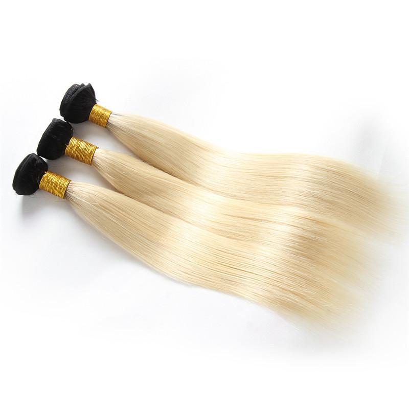 613 Ombre Human Hair Weave 3 Bundles